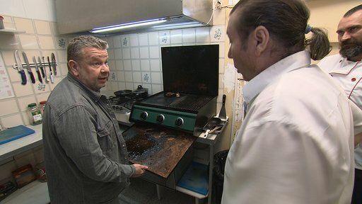 El cocinero Alberto