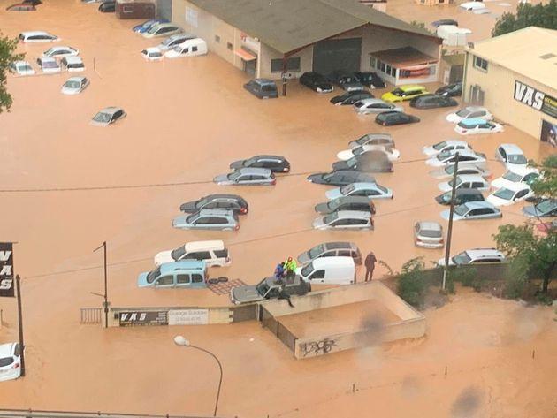 Inondations dans le sud de la