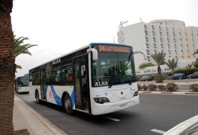 La compagnie ALSA succède à M'dina Bus, à Casablanca.