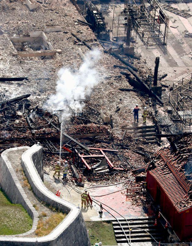 Ιαπωνία: Πυρκαγιά κατέστρεψε το κάστρο Σούρι, μνημείο παγκόσμιας κληρονομιάς της