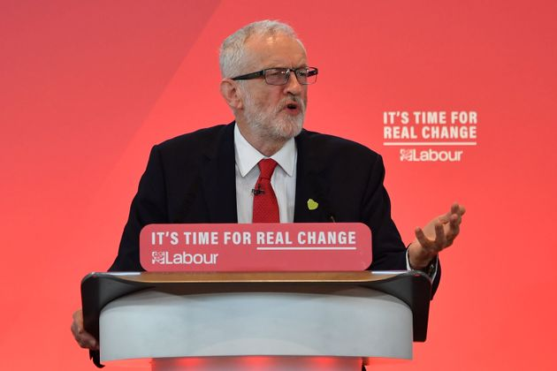 Jeremy Corbyn Says NHS 'Not For For Sale' As He Launches Labour Election