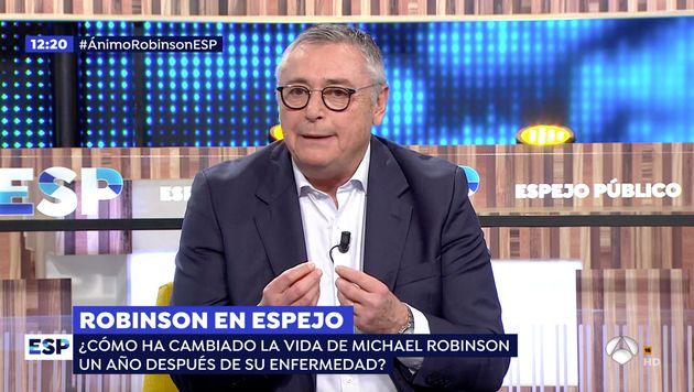 Michael Robinson en 'Espejo