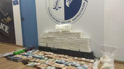 Εξαρθρώθηκε μεγάλο κύκλωμα κοκαΐνης - Κατασχέθηκαν 105 κιλά συνολικής αξίας 5 εκατ.