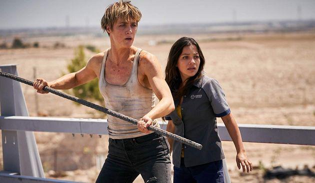 Mackenzie Davis (Grace) eNatalia Reyes (Dani Ramos) são as boas novidades de