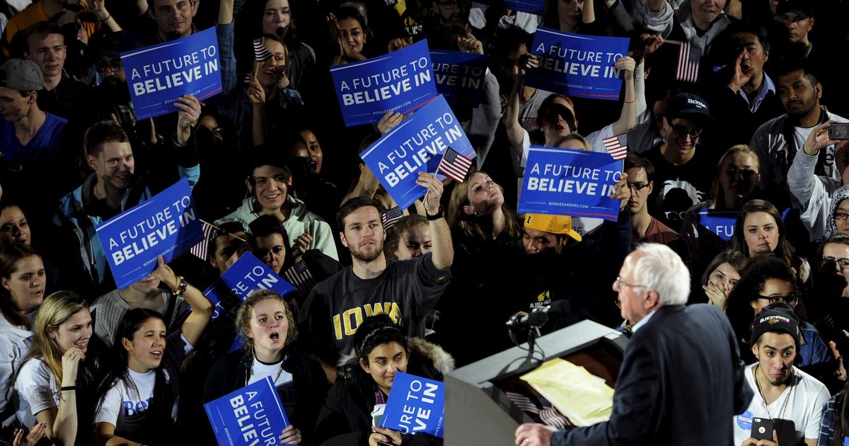 The Core Of Bernie's Base Is Up For Grabs In Iowa