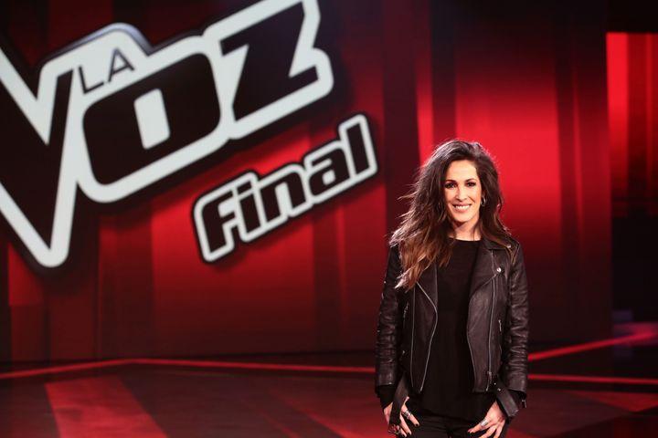 Malú asiste a la presentación de la final de 'La Voz' en diciembre de 2017.