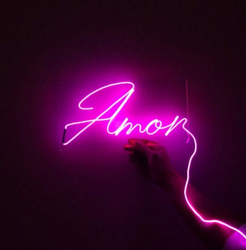 13 Neon Light Signs For The Home That