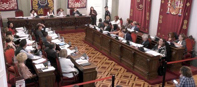 Pleno del Ayuntamiento de