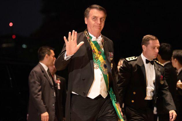 Bolsonaro repreende declaração de Eduardo diz que quem fala em AI-5 'está