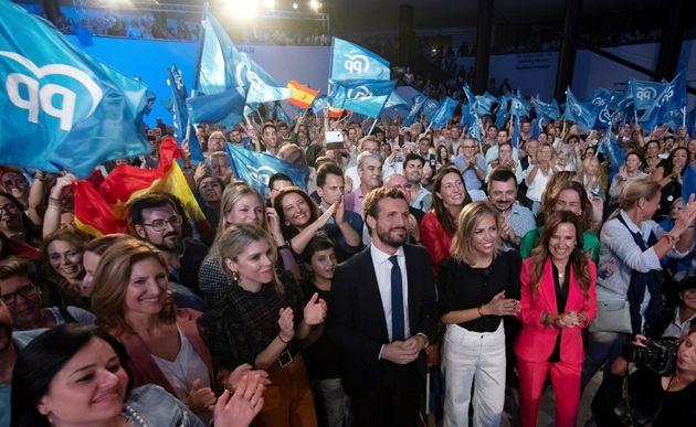 Pablo Casado inicia campaña electoral en