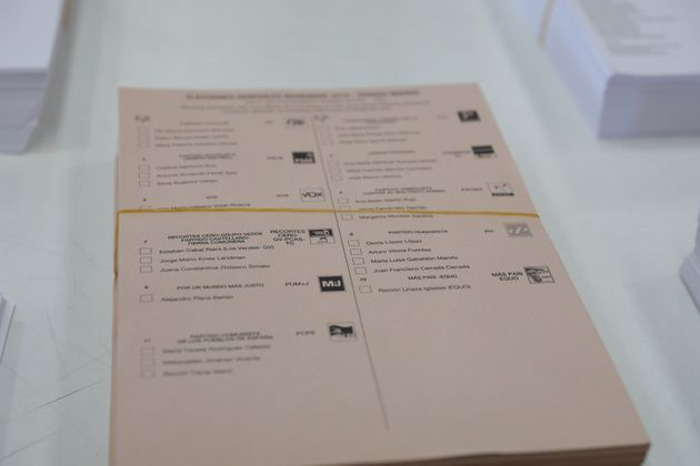La petición de voto por correo cae en torno al 30% respecto al