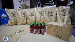 Meth Worth $300m Found In Sriracha Chilli