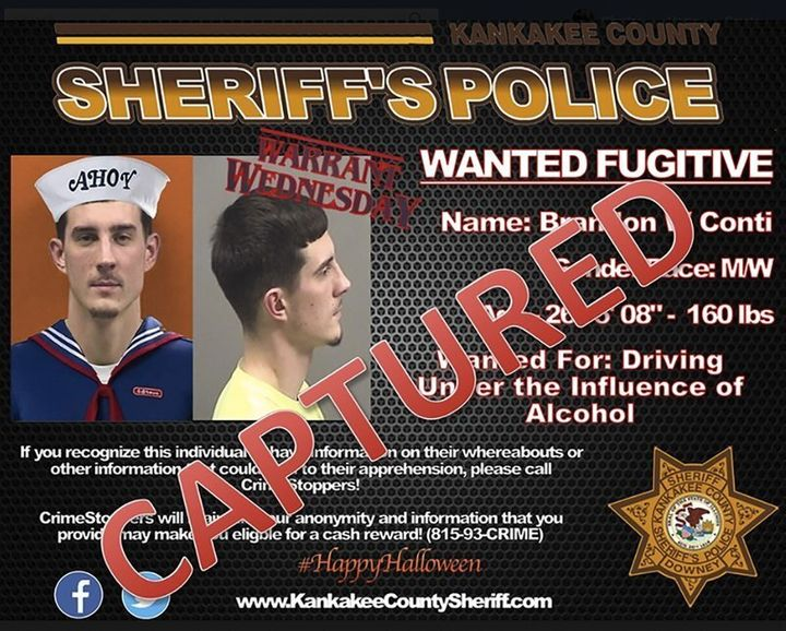Brandon W. Conti wanted poster 2