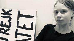 Greta Thunberg se moque de ses détracteurs avec son déguisement