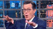 Colbert Παίρνει Τραμπ ΔΑΠ Συμμάχους Για Το Ρεκόρ Με Λέξεις Που θα Τους Στοιχειώνει
