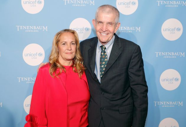 HOUSTON, TX - MAY 04: Honorees Linda McIngvale (L) and Jim McIngvale attend the Fifth Annual UNICEF Gala...