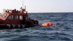 독도 해상에서 추락한 소방헬기 동체 추정 물체 위치가