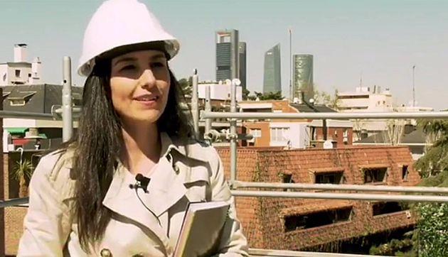Rocío Monasterio en un vídeo de su partido,