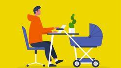 国家公務員、男性も1ヶ月以上の子育て休暇所得を。女性職員と大きな開き、政府が方針を整備へ