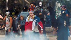 Au Chili, cette manifestation avait des airs de parade