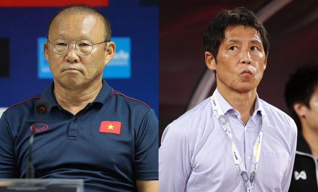 니시노 아키라가 베트남 대표팀을 비판했고, 박항서는 강하게