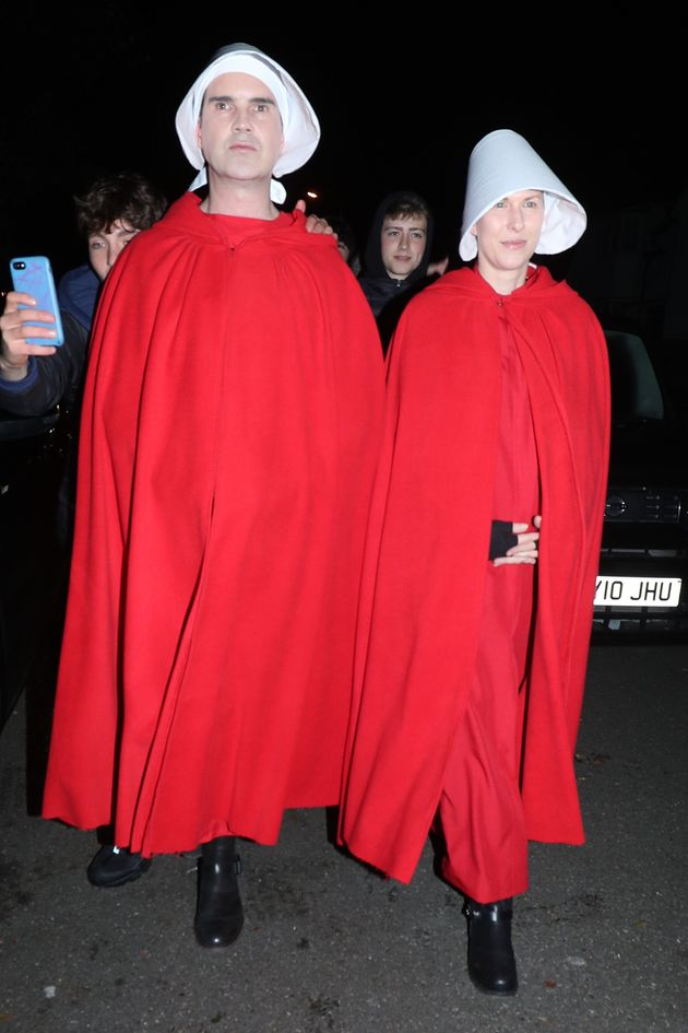 Jimmy took inspiration from The Handmaid's