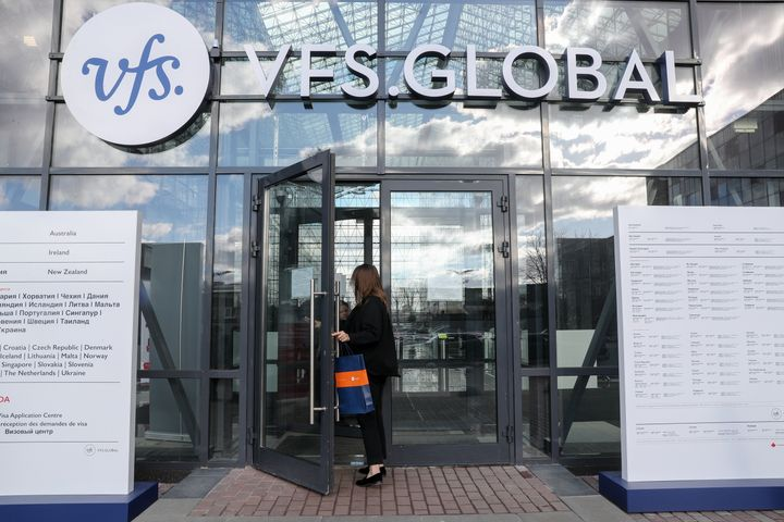 VFS Global joint visa application center.