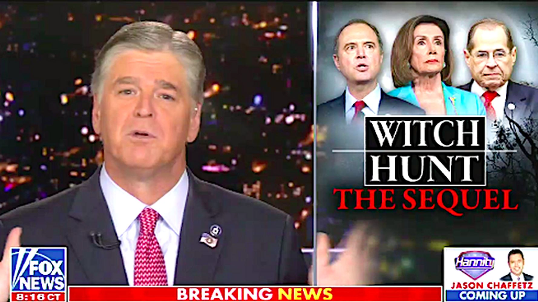 Sean Hannity Calls Impeachment Inquiry A 'Show Trial' And Worse