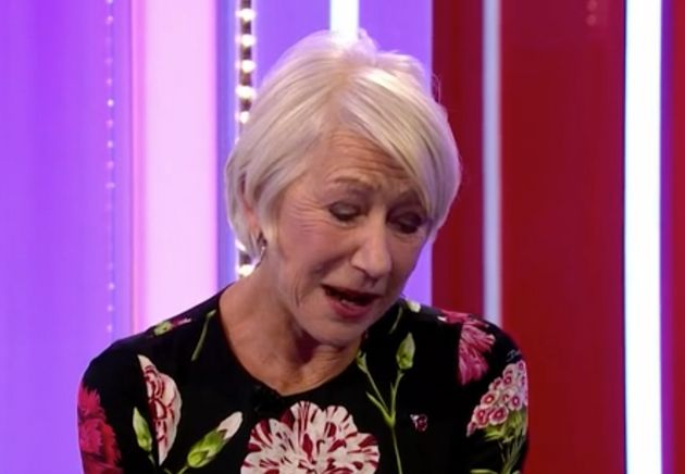 Helen Mirren Calls Out The One Show's Alex Scott After Being 'Insulted' By 'Feisty' Comment During Awkward