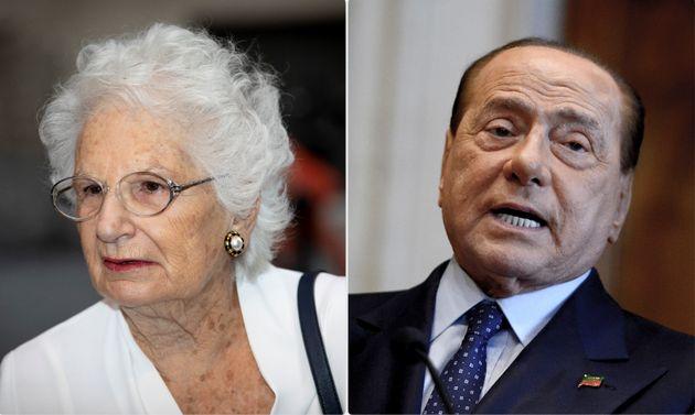 Liliana Segre e Silvio