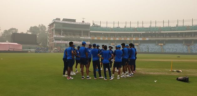 Team India prepares for T20I vs