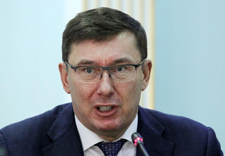 <em>L'ex-procureur général ukrainien </em><em>est impliqué dans le renvoi de l'ambassadrice des États-Unis en Ukraine, Marie Yovanovitch.</em>