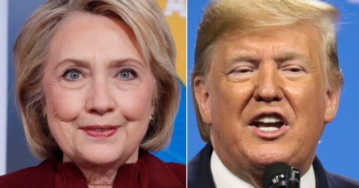 Hillary Clinton: Trump Revealed The 1 Thing He's Fearful About With Roger Stone Clemency