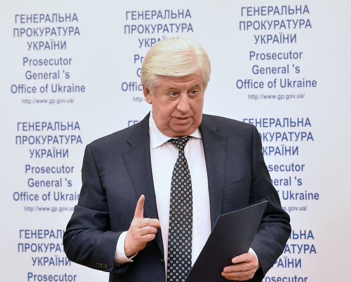 <em>Viktor Shokin a été très critiqué suite à son refus de poursuivre des enquêtes pour corruption.</em>