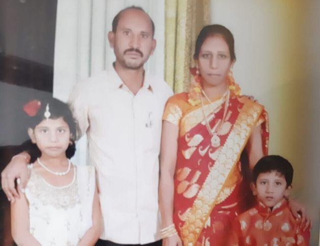 32-year-old K Neeraja, an RTC employee, with her family. On Diwali night, she hanged herself from...