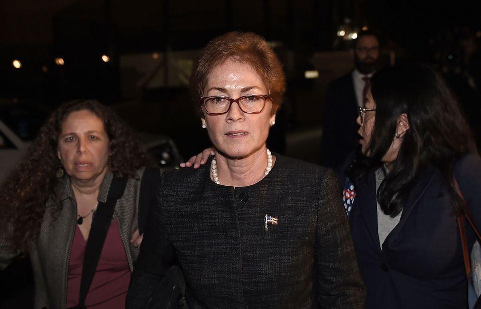 Marie Yovanovitch a été démise de ses fonctions en mai, pour avoir bridé...