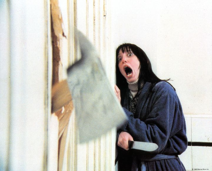 """Shelley Duvall in """"The Shining,"""" 1980. (Photo by Warner Brothers/Getty Images)"""