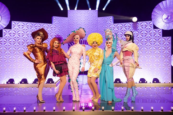 The final six queens on the runway