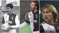 La Juventus festeggia il compleanno