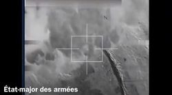 """La France a bombardé """"plusieurs caches et tunnels"""" de"""