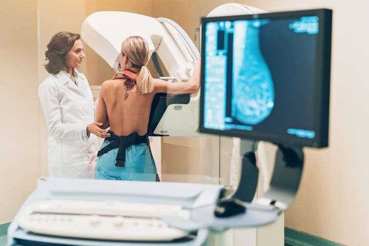 Most young people have dense breast tissue that prevents mammograms from being effective.