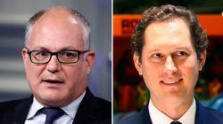 Telefonata Gualtieri-Elkann: il ministro apprezza la fusione.