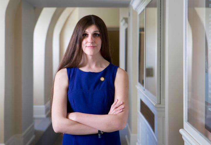 Virginia Del. Danica Roem (D) became the state's first openly transgender lawmaker in 2017. She is now fending off a Republic