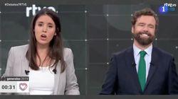 Espinosa de los Monteros (Vox) se ríe cuando Irene Montero habla de los desaparecidos en la Guerra
