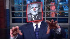 スティーブンコルベールShreds Giulianiの信頼関係のトランプの長い名前のリスト