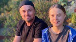 DiCaprio incontra Greta: