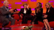 Ian McKellen Kuis Jennifer Aniston, Reese Witherspoon, Julie Andrews