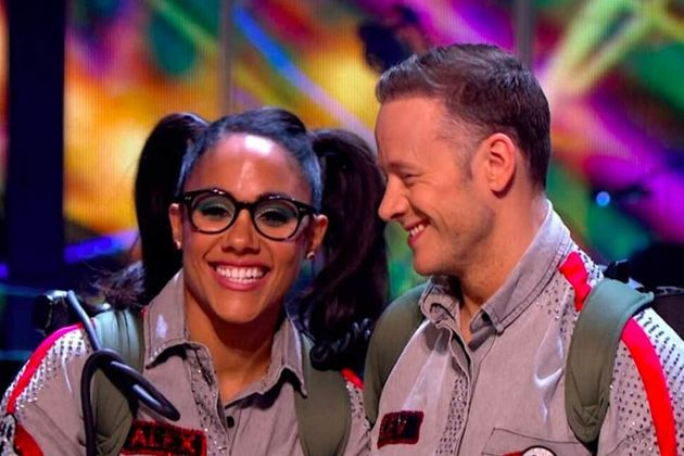 Alex Scott and Kevin Clifton will dance together on