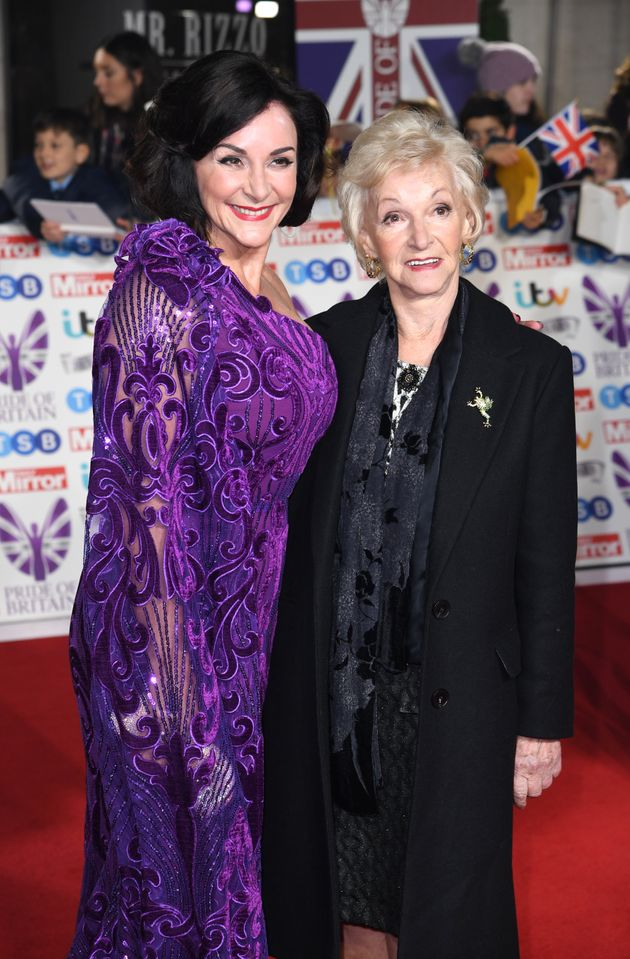 Shirley with her mum Audrey