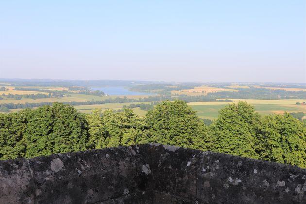 Ville de Langres - Fortifications et promenade - Département de la Haute Marne - Juin